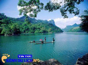 Hồ Ba Bể cách Hà Nội bao xa