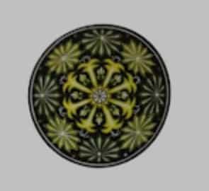 trang trí hình tròn